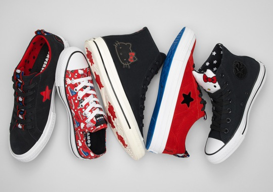Converse's Hello Kitty Partnership Returns For The Holidays