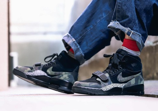 "The Jordan Legacy 312 Gets Another ""Camo"" Colorway"