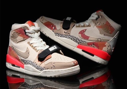 The Jordan Legacy 312 Appears In Desert Camo