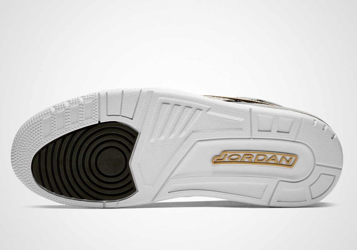 super popular 8bb94 a128b Jordan Legacy 312 Black Gold AV3922-007 Release Info   SneakerNews.com
