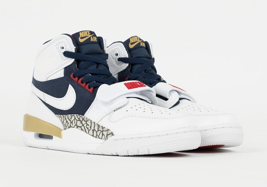 "The Jordan Legacy 312 Appears In A ""Dream Team"" Olympic Colorway"