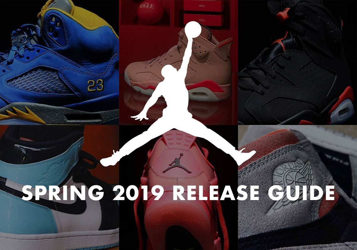db4bd409fed9 Jordan Release Dates 2019 January February March