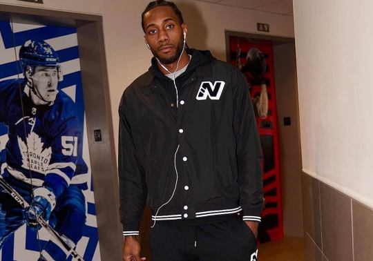 Kawhi Leonard Steps Out In New Balance, Which Pretty Much Confirms The New Deal