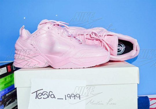 The Martine Rose x Nike Air Monarch Just Released On Craigslist