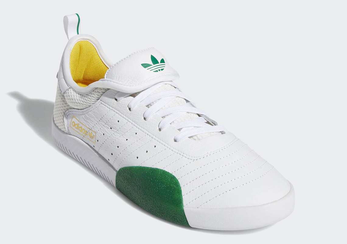 low priced b55af ac644 Na-Kel Smith x adidas 3ST.001. Release Date December 20th, 2018 95.  Color Cloud WhiteBold GreenBold Gold Style Code G27787