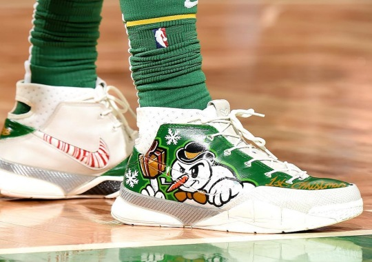 Here Are The Best Sneakers Worn On Christmas Day 2018