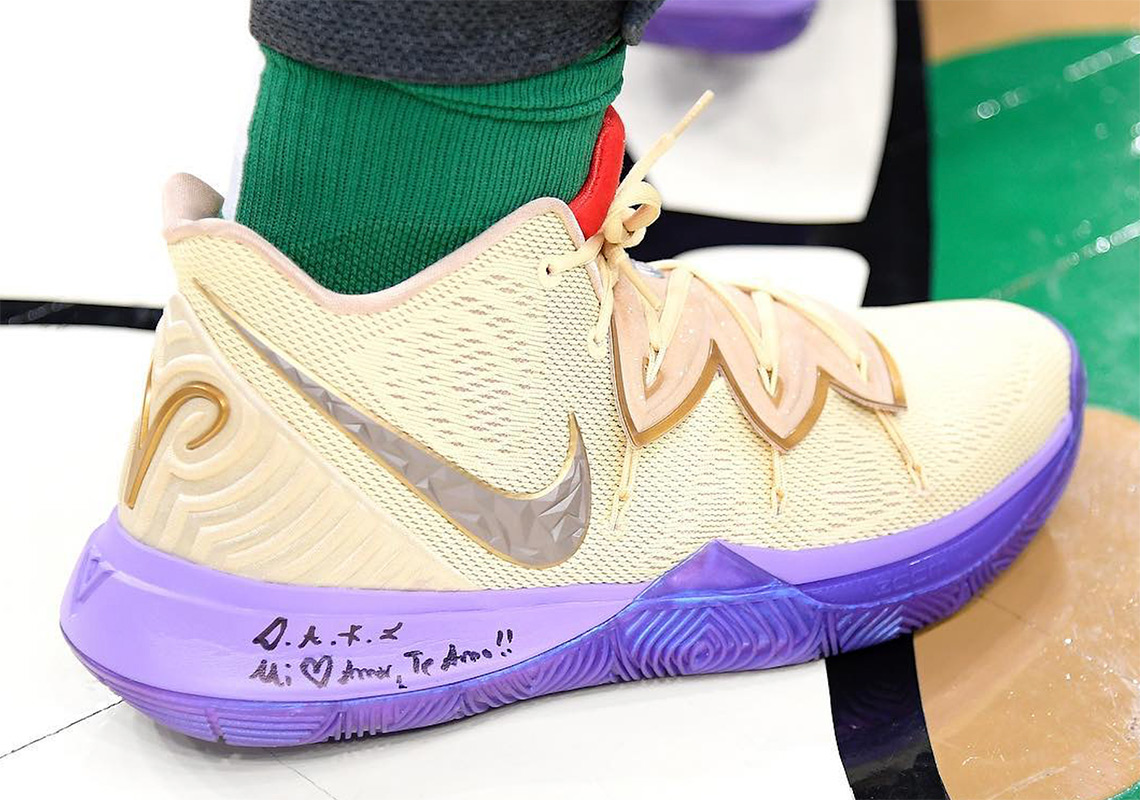 """f7b53c9ad54 Kyrie Irving  Concepts x Nike Kyrie 5 """"Ikhet""""."""