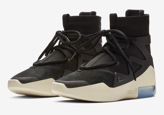 Official Images Of The Nike Air Fear Of God 1 In Black
