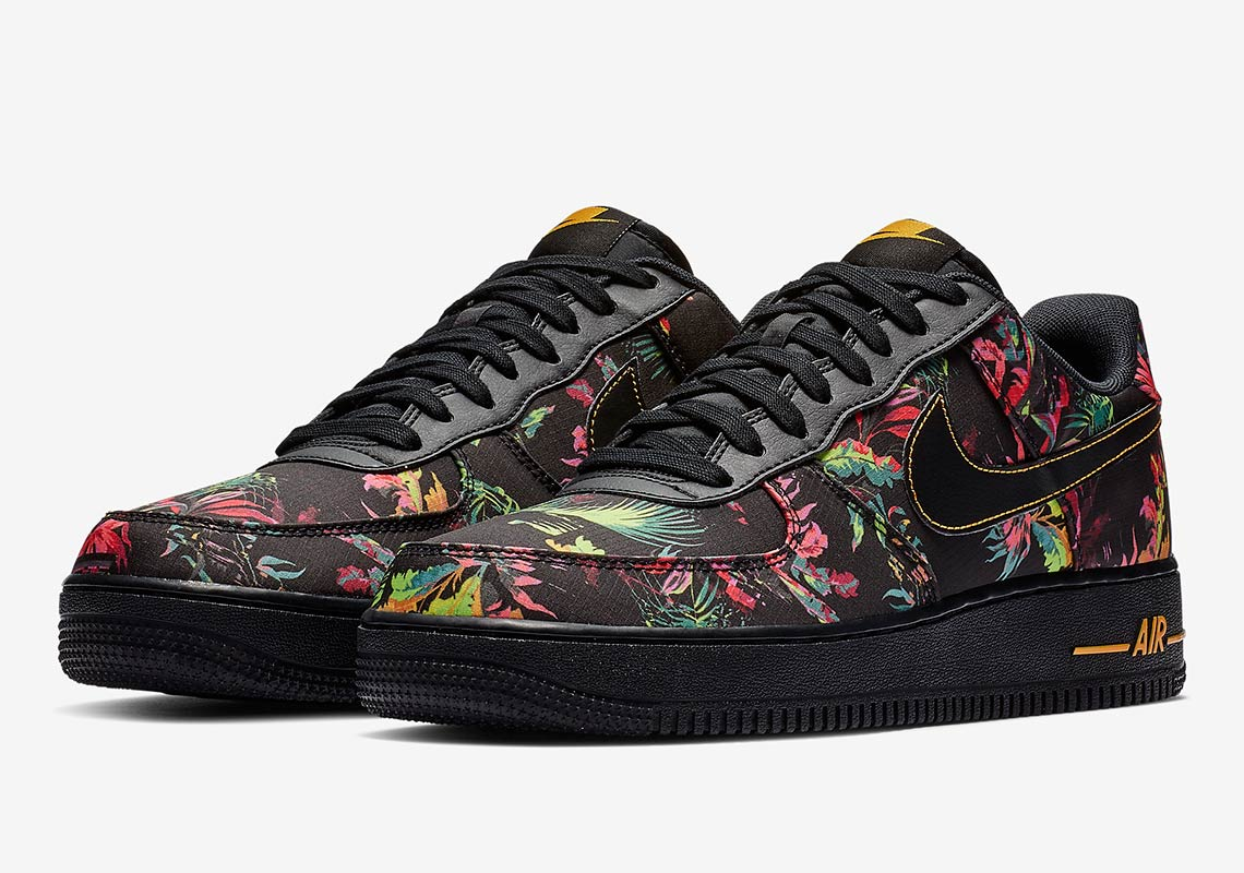 43121b518fa Nike Air Force 1 Low Floral BV6068-001 Release Info