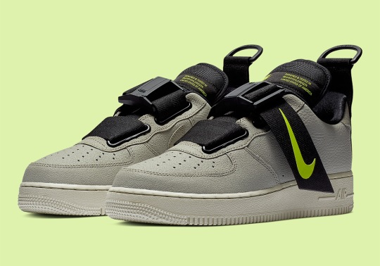 The Nike Air Force 1 Utility Arrives In A New Spruce Fog Colorway