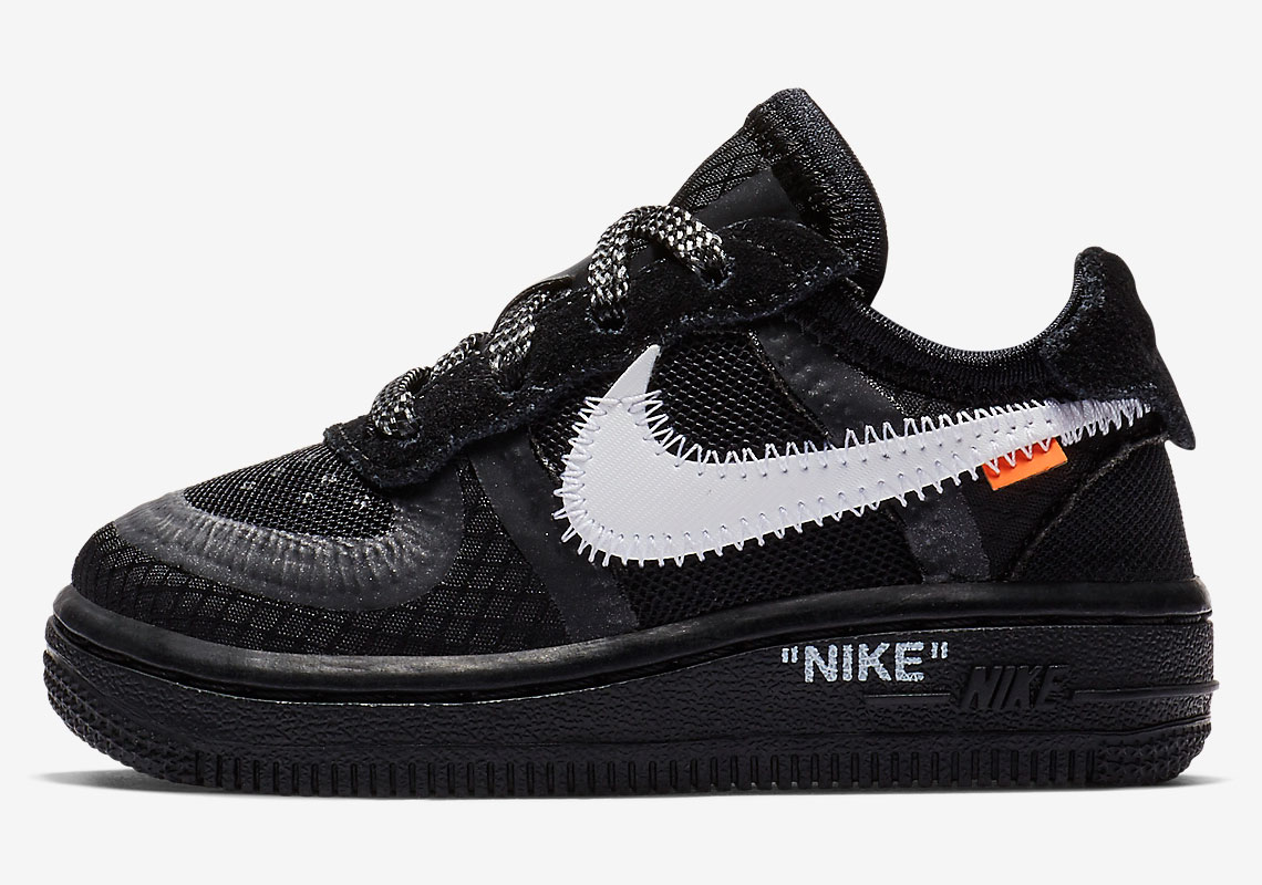 the sale of shoes best price detailed images Off White Nike Air Force 1 Kids Store List | SneakerNews.com