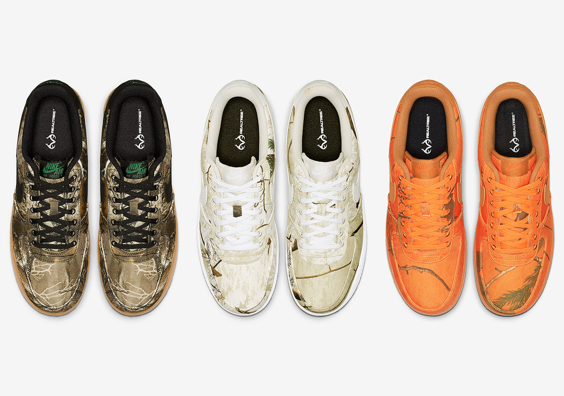 e60c2af787f4 Nike Air Force 1 Realtree Camo Pack Is Dropping On January 4th