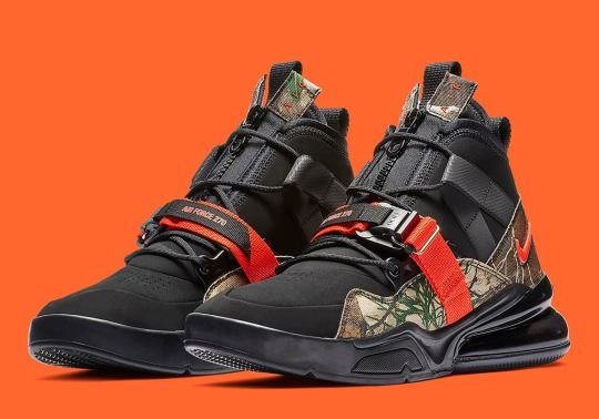 "Nike Air Force 270 Utility ""Realtree Camo"" Is Coming In January"