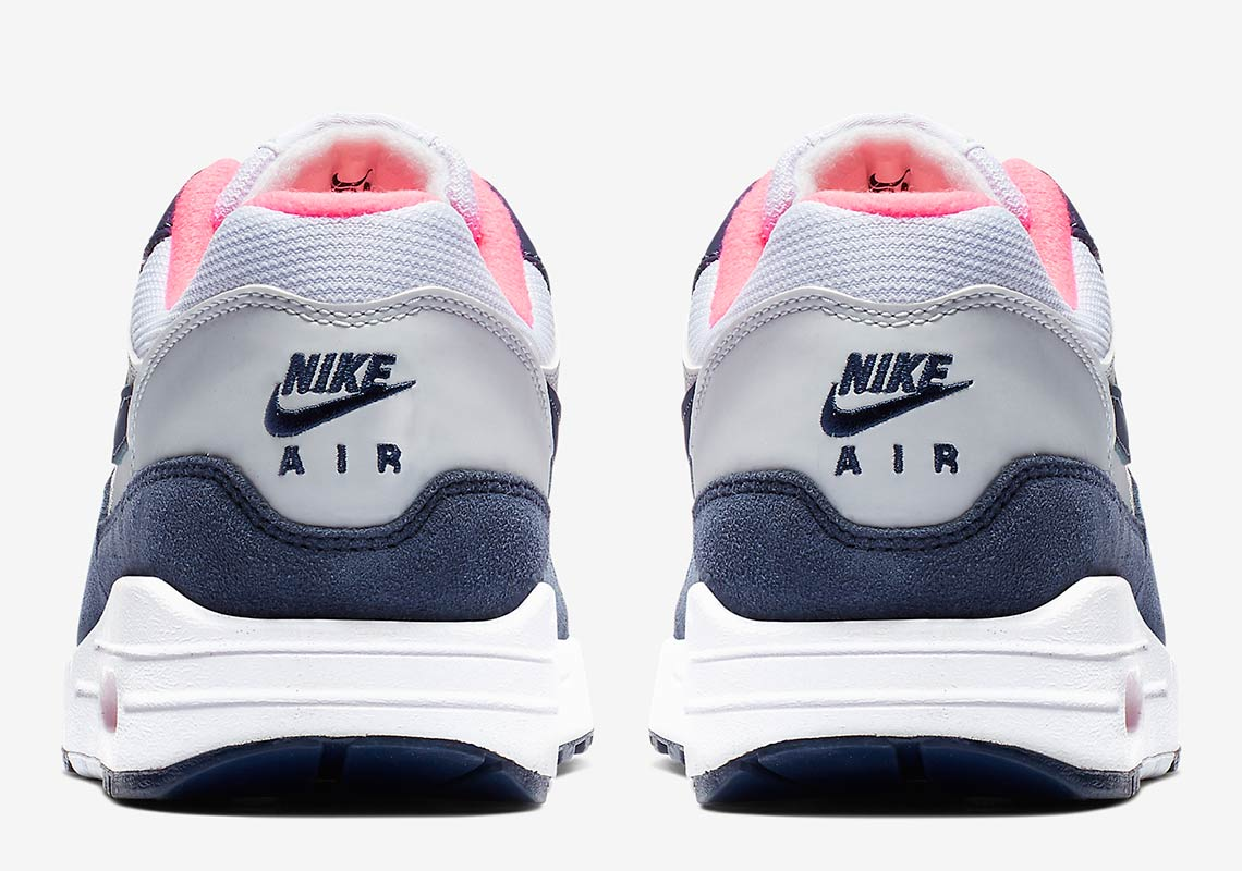new arrival d8c67 db0c5 Nike Air Max 1 Grey + Midnight Navy First Look + Info   SneakerNews.com