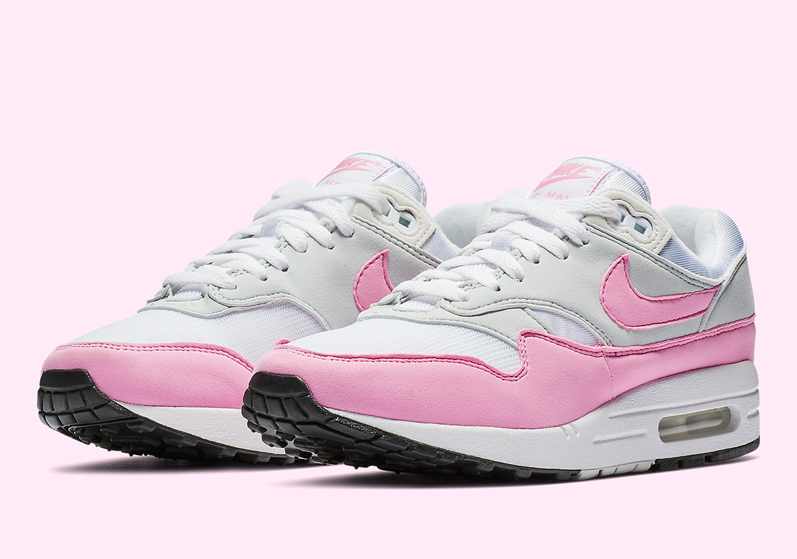 "best website 62740 15d9f Nike Air Max 1 ""Psychic Pink"" Is Available Now"