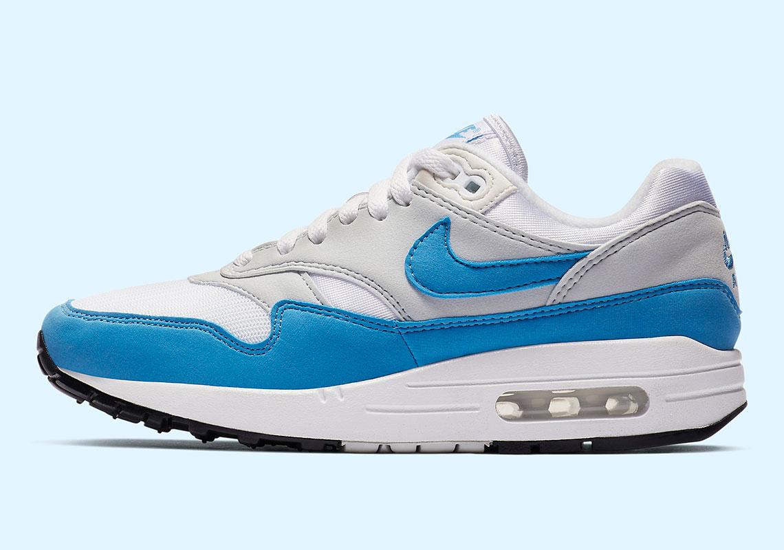 Nike Air Max 1 W Ess University Blue BV1981 100 Buy Online