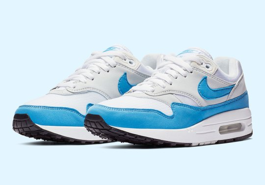 """The Nike Air Max 1 Essential """"University Blue"""" Is Releasing Soon For Women"""