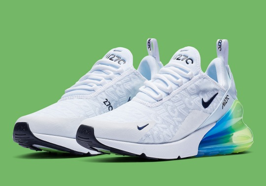 All-Over Branding Comes To The Nike Air Max 270