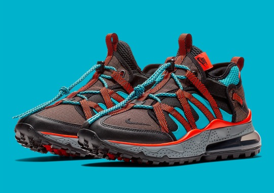 The Nike Air Max 270 Bowfin Appears In Red And Teal