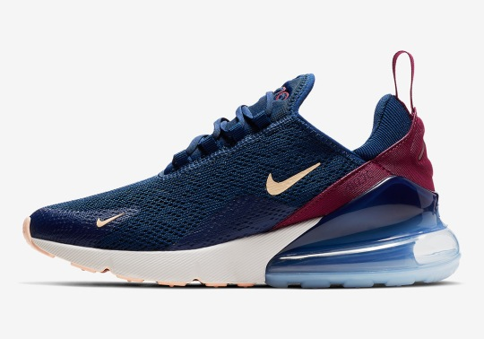 """The Nike Air Max 270 """"Blue Void"""" Is Coming Soon For Women"""