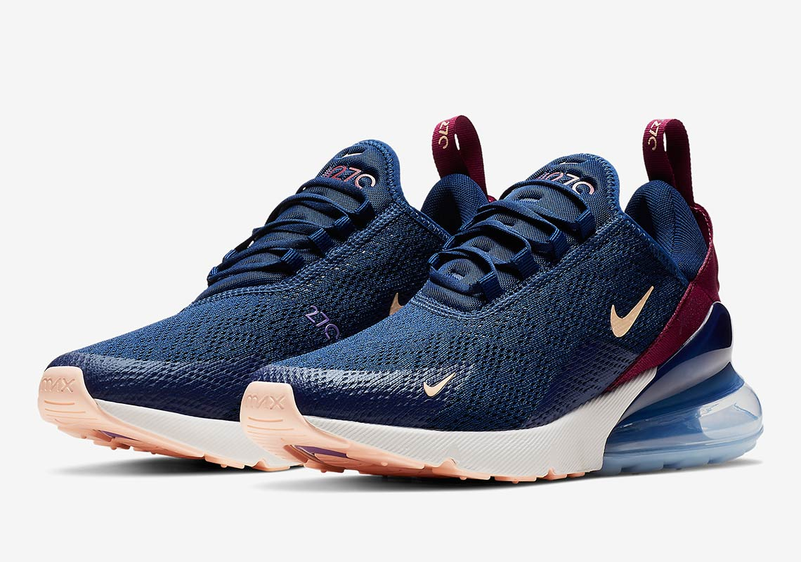 bfefd7177 Nike Air Max 270 Blue Void AH6789-402 Release Info