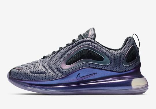 "The Nike Air Max 720 ""Aurora Borealis"" Features An Iridescent Glow"