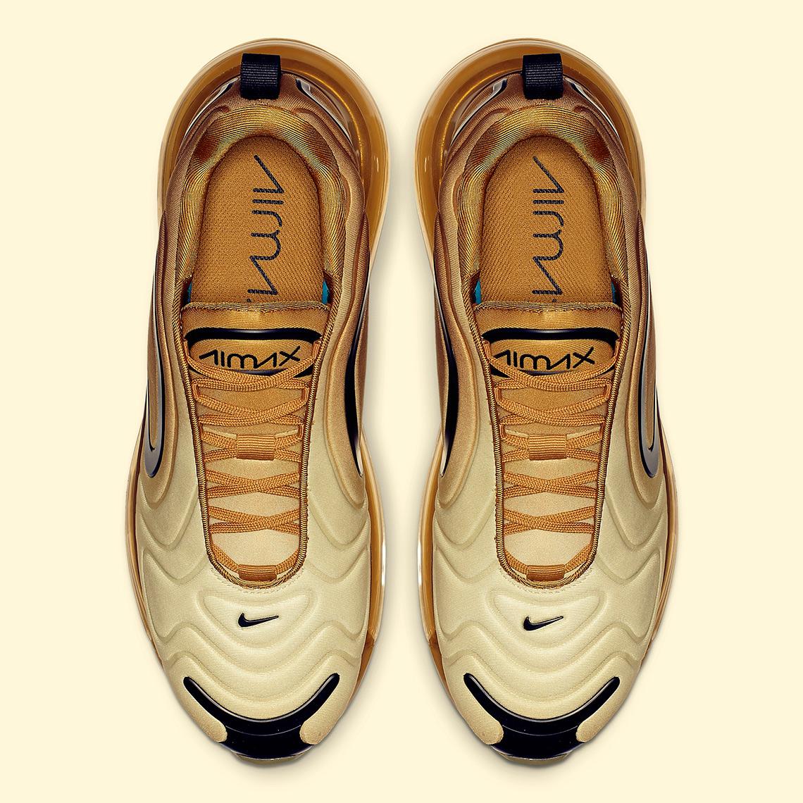 5d4d1ce723d5f Nike Air Max 720 Gold AO2924-700 Release Info