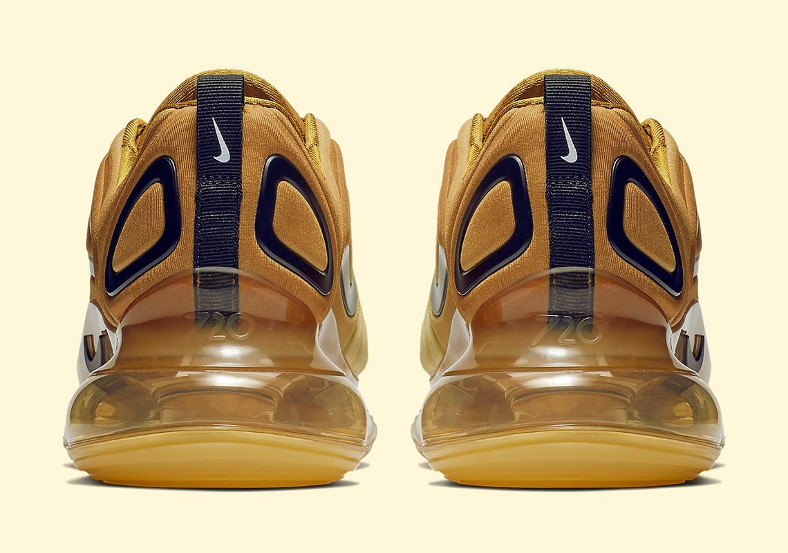 timeless design f8def 92931 Nike Air Max 720 Gold AO2924-700 Release Info   SneakerNews.com