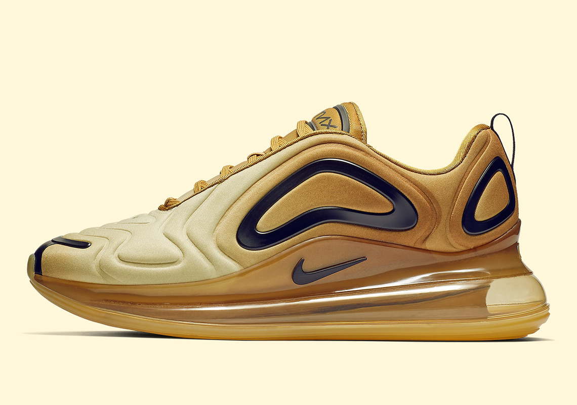 Nike Air Max 720 Gold AO2924-700 Release Info | SneakerNews.com