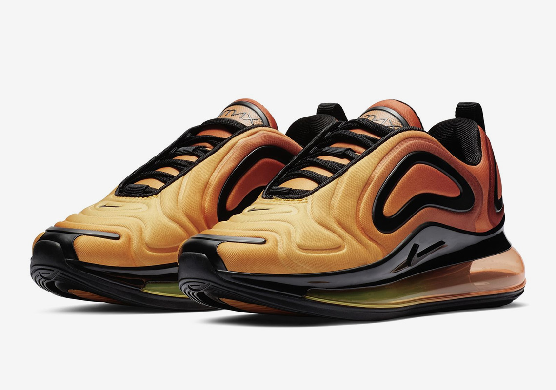 "4ee07f258e83 First Look At The Nike Air Max 720 GS ""Sunrise"""