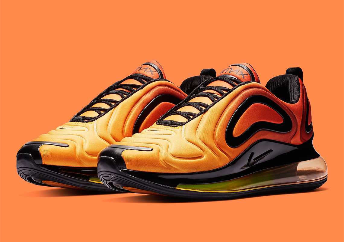 "wholesale dealer d29c6 5c06c First Look At The Nike Air Max 720 ""Sunrise"""