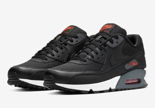 Hot Habanero Accents Hit The Nike Air Max 90