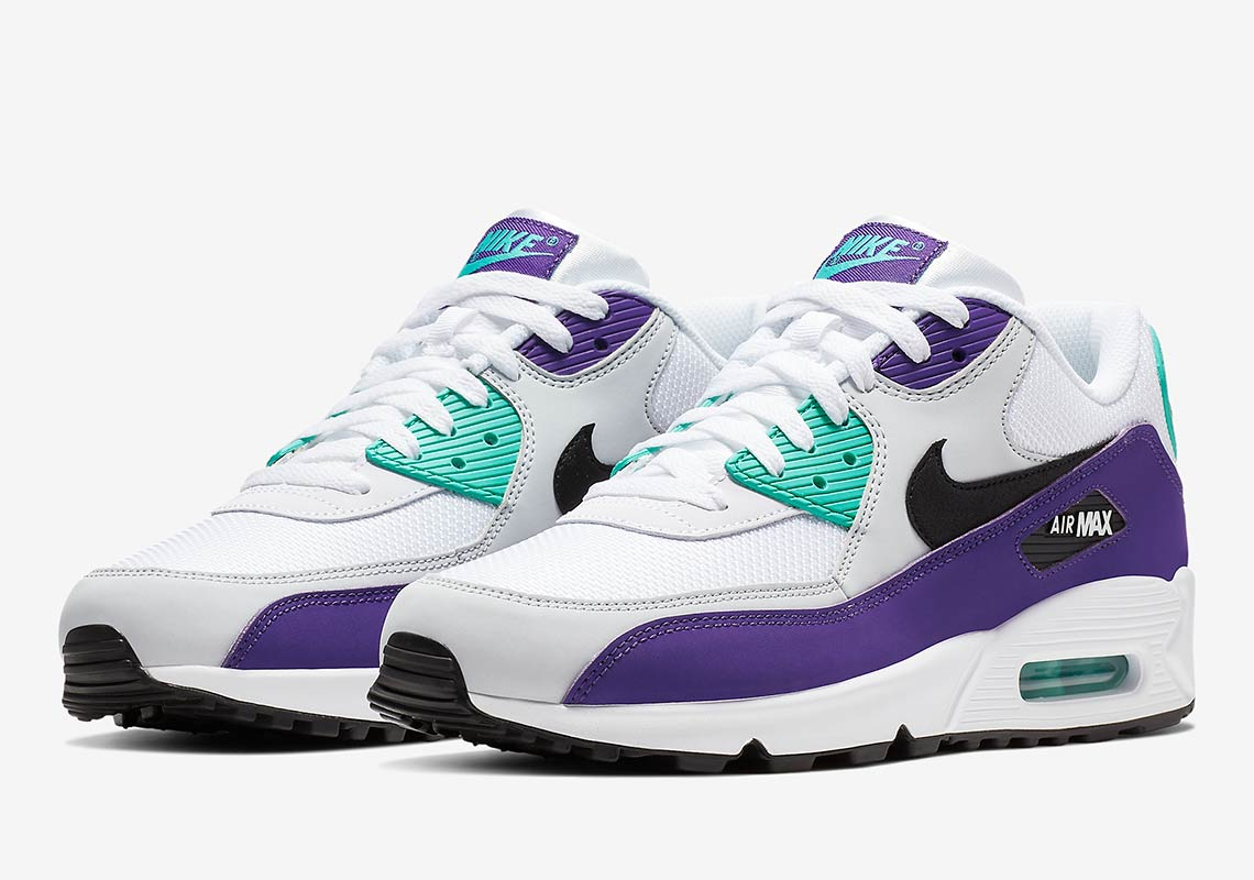 "e66bf7f727af Nike Air Max 90 ""Grape"" Is Releasing In February 2019"