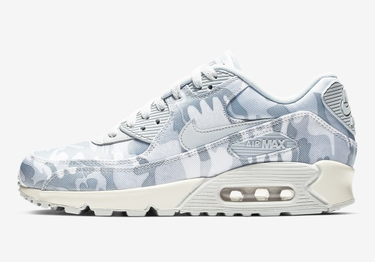The Nike Air Max 90 Appears In A Winter Camo Colorway