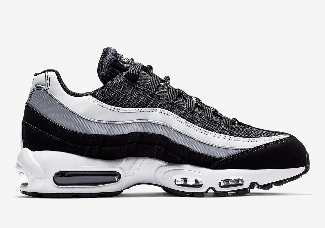 3eb1552fb369 Nike Air Max 95. Color  Black Wolf Grey White Style Code  749766-038. Where  to Buy. Caliroots Available