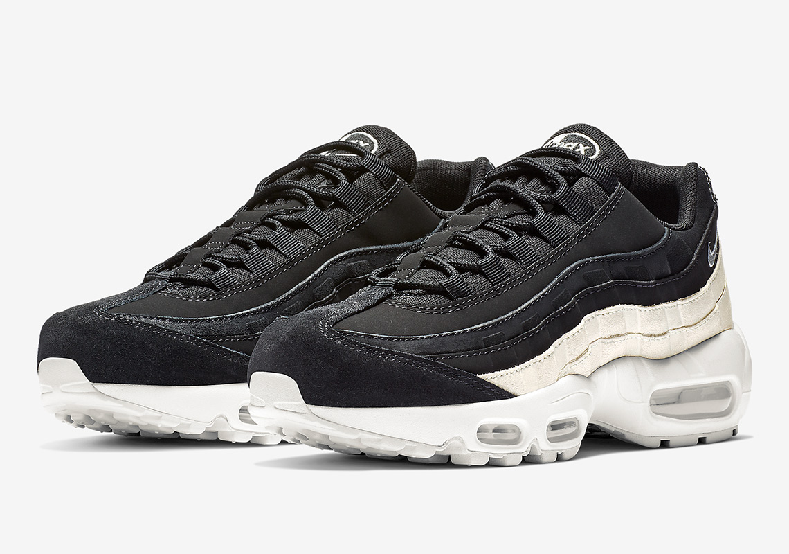 the latest c691b 131ef The Nike Air Max 95 In Black And Spruce Aura Is Arriving Soon