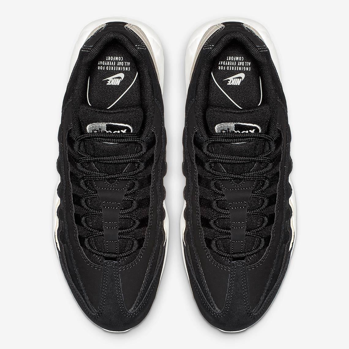 Nike Air Max 95 Black White AQ9721 001 |