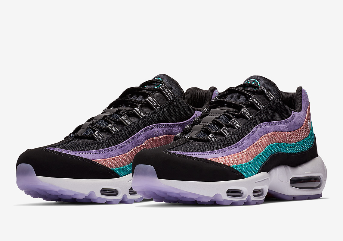 "5cfa0503dc54 Nike Revives A Classic Slogan With The Air Max 95 ""Have A Nike Day"""