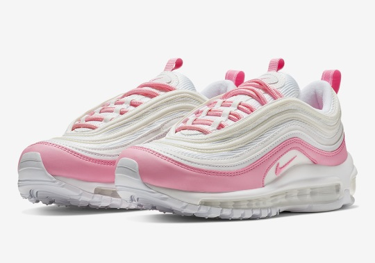 The Nike Air Max 97 Is Avaiable In Bubble Gum Pink