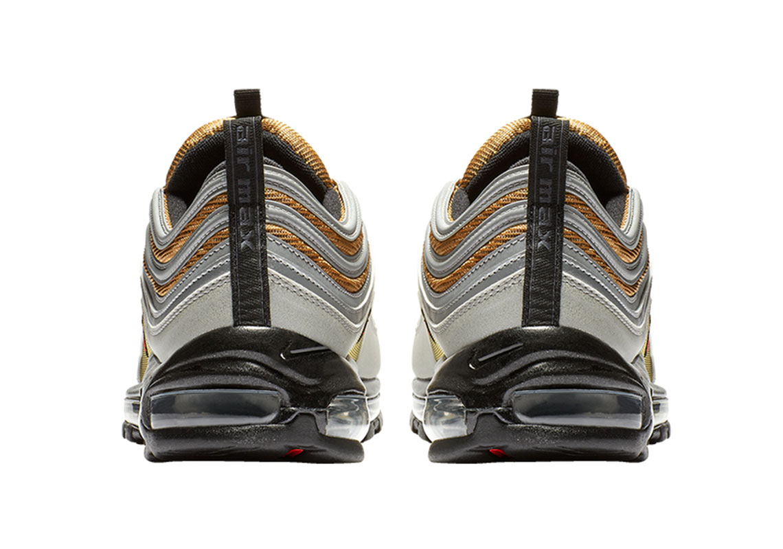 Nike Air Max 97 GoldSilver BV0306 001 Release Info
