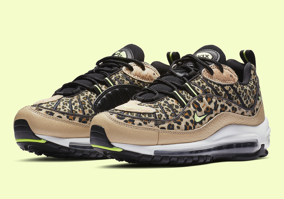 2a2f25e43b2b The Nike Air Max 98 Appears In Wild Leopard Prints