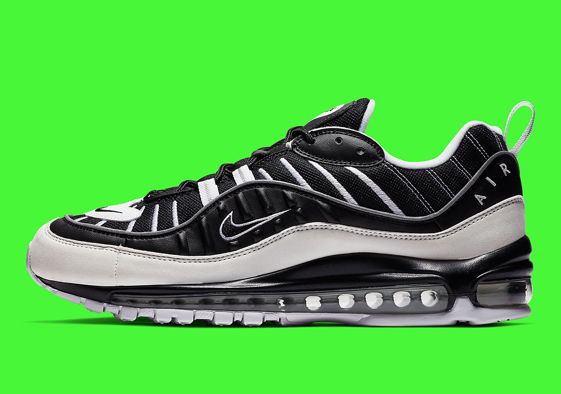 a2a132e5dd82 The Nike Air Max 98 Returns In A Contrasting White And Black