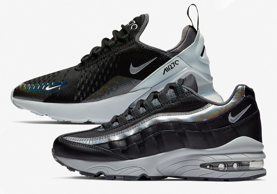 Nike Air Max 270 + 95 Y2K BQ9240-001 AT8091-001 Release Info
