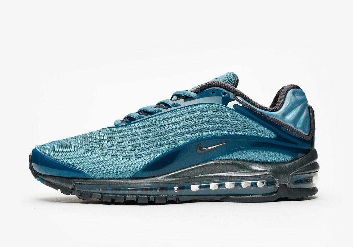 buy online 8d1cd acf27 Nike Air Max Deluxe Celestial Teal AV7024-400 Release Info .