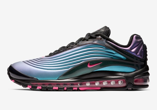A Futuristic Colorway Lands On The Nike Air Max Deluxe