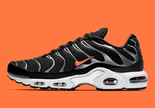The Nike Air Max Plus Is Coming In Black And Orange
