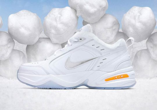 The Nike Air Monarch IV Gets A Snow Day-Inspired Makeover