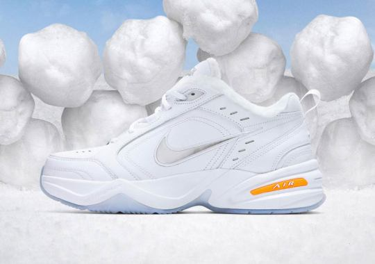 72cd7252ba3 The Nike Air Monarch IV Gets A Snow Day-Inspired Makeover