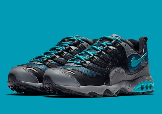 Nike's Terra Humara Grabs Grey And Teal Hues