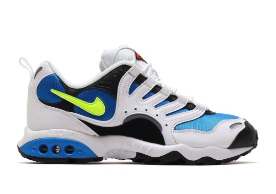 The Nike Air Terra Humara Appears In Photo Blue And Volt
